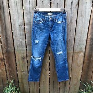 Madewell Women's Blue Skinny Jeans